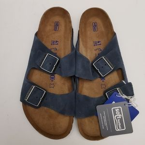 Birkenstock Arizona Denim Navy Sandals 41